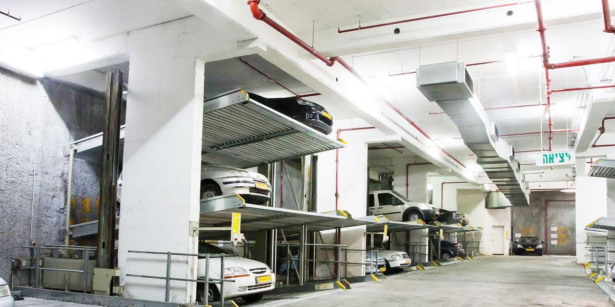 מתקנים מכניים מדגם 403 Parklift