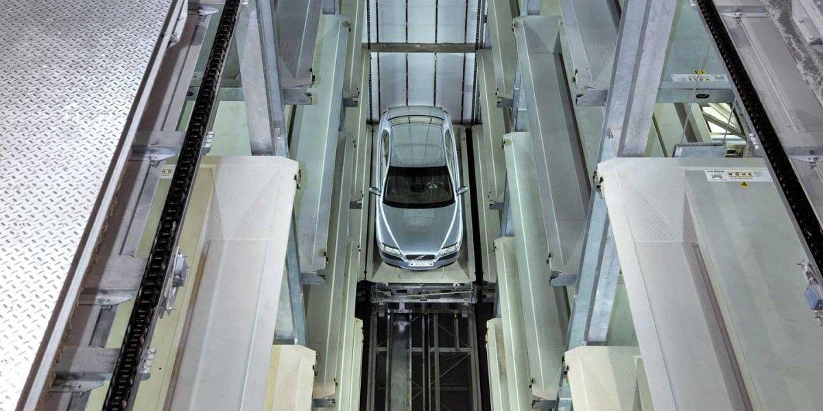 מתקן החניה האוטומטי מדגם Parksafe 583