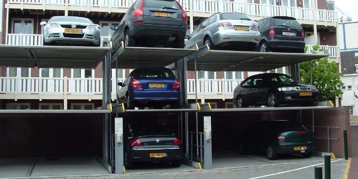 מתקן חניה Parklift 413