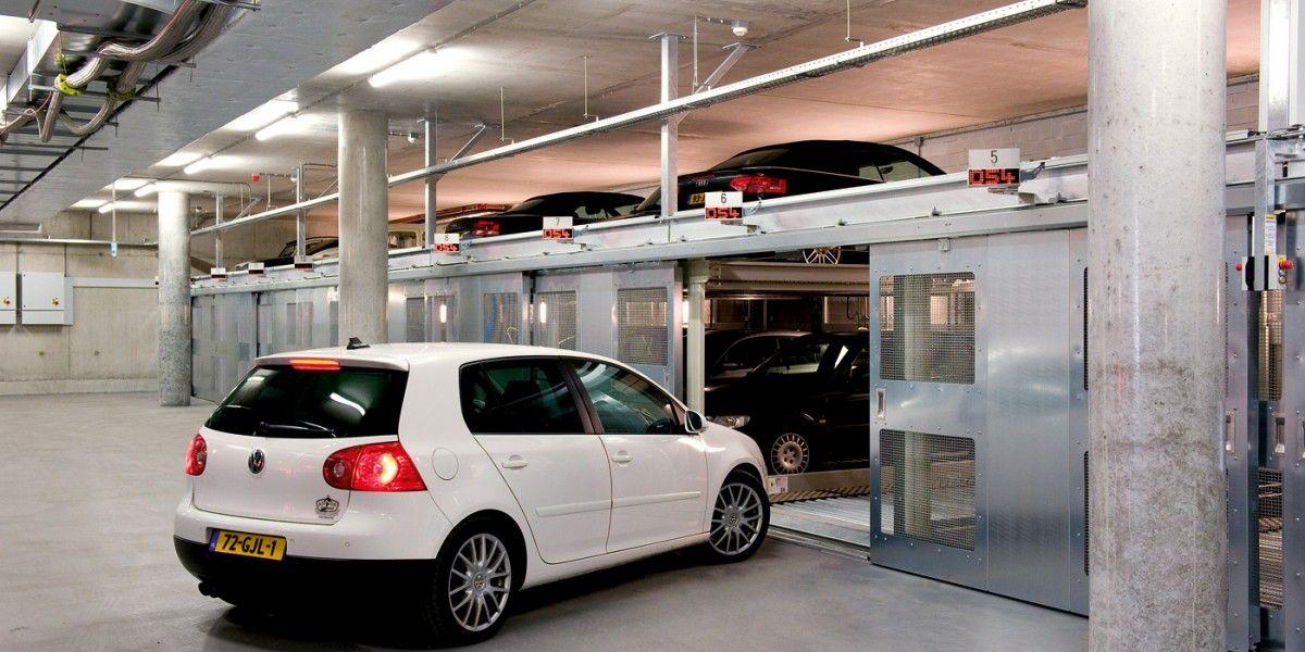 מתקן החניה חצי אוטומטי Combilift 543