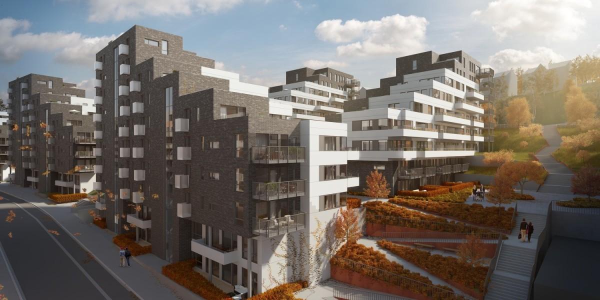 מתחם מבני מגורים, אוסלו, נורווגיה