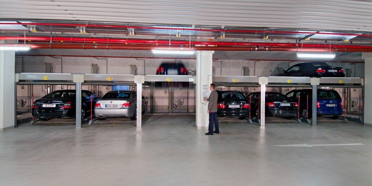 מתקן חניה חצי אוטומטי Combilift 551