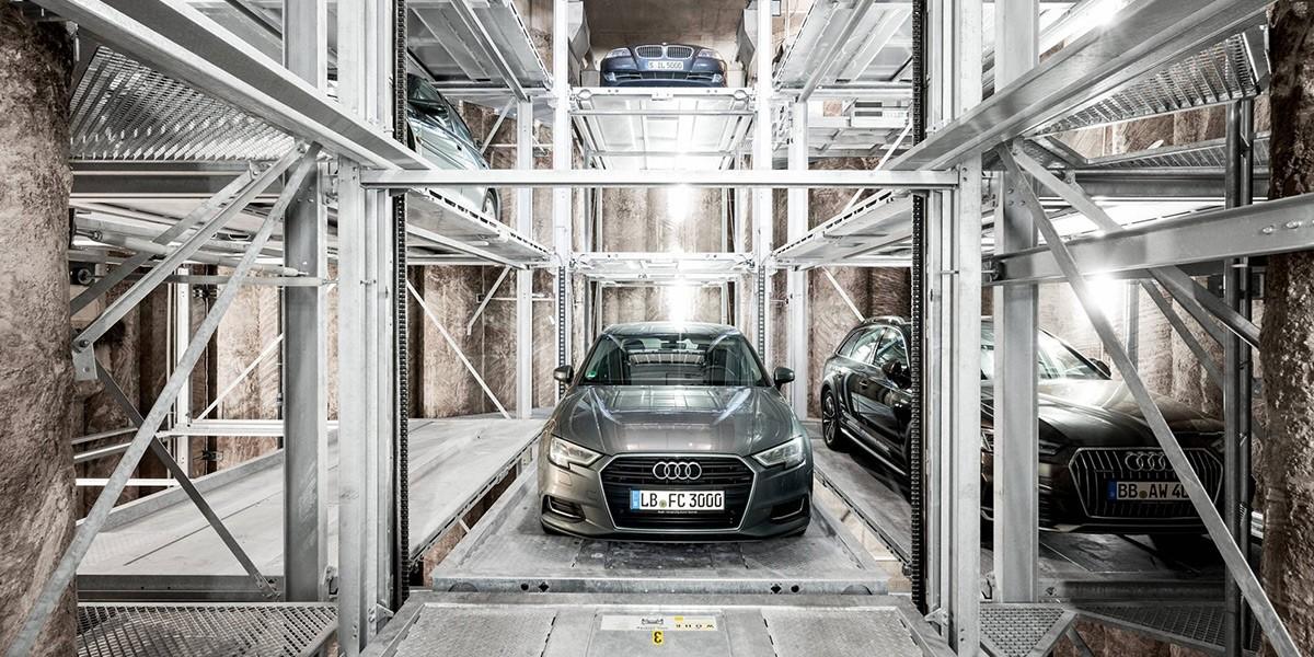 מתקן החניה Crossparker 558
