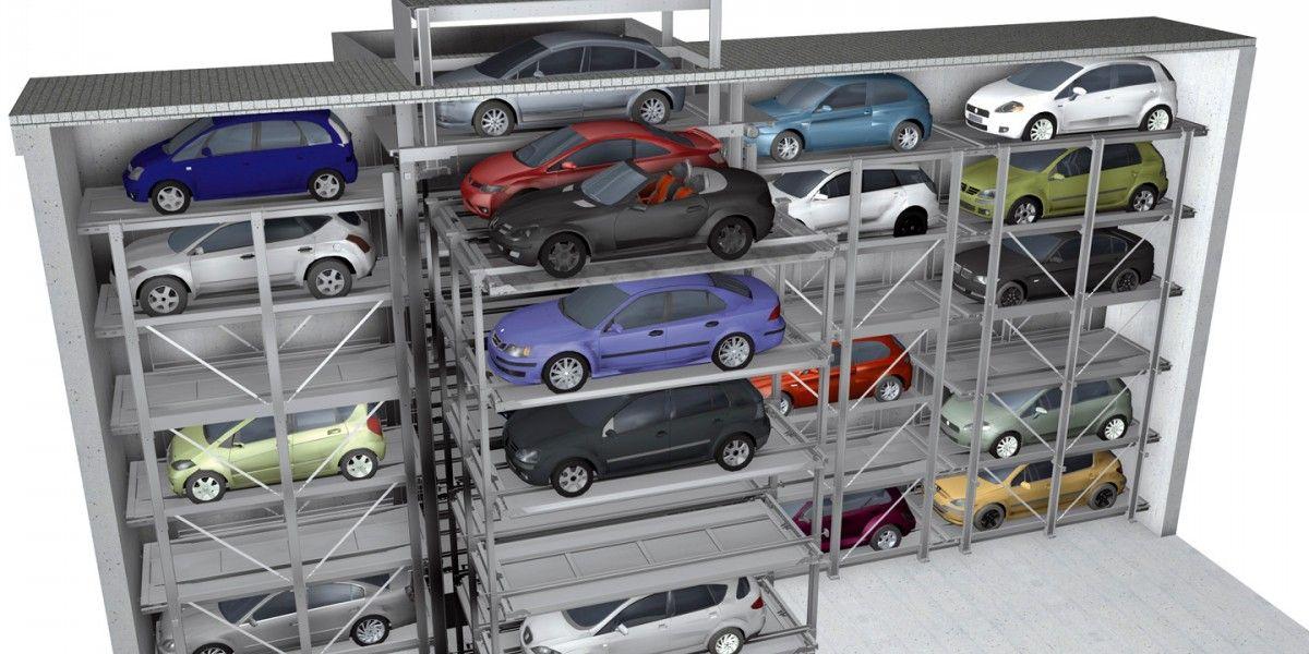 מתקן חניה Crossparker 558