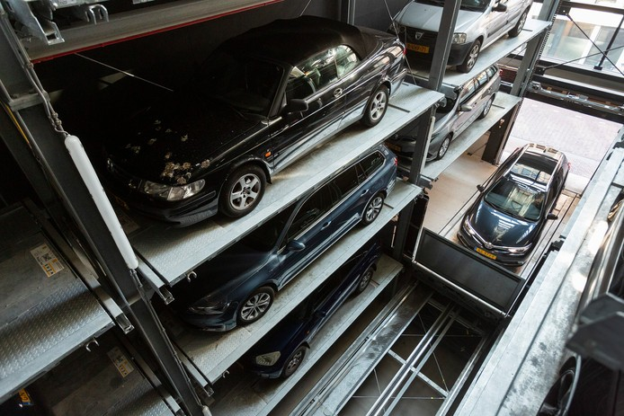 הטענה חשמלית בחניון אוטומטי