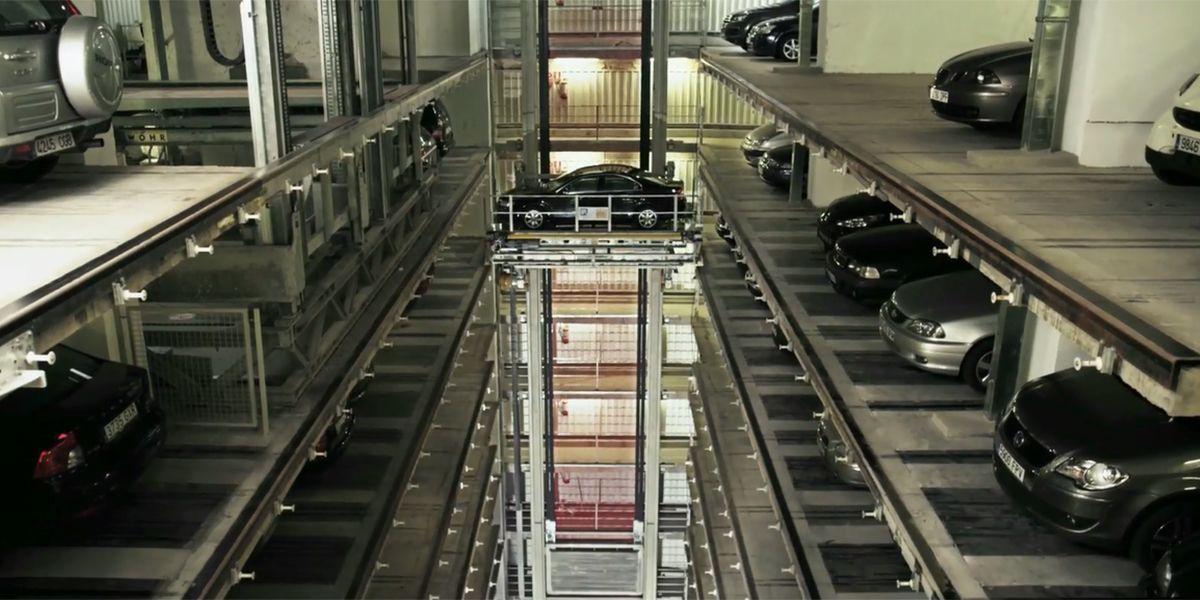מערכת חניה אוטומטית של Wöhr