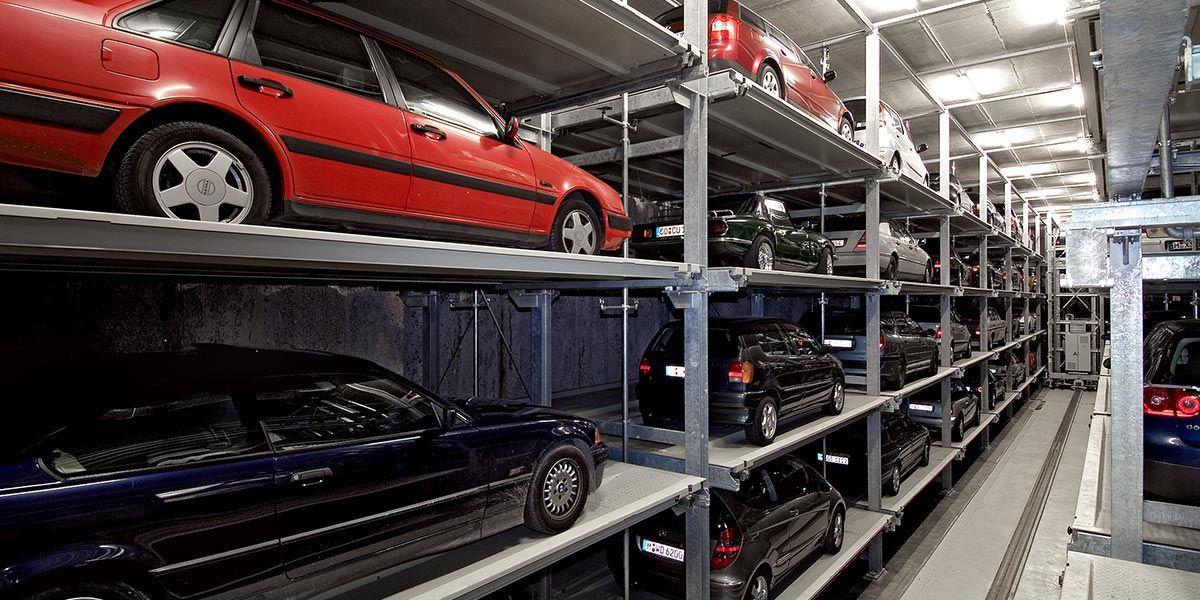 מתקן חניה אוטומטי במינכן