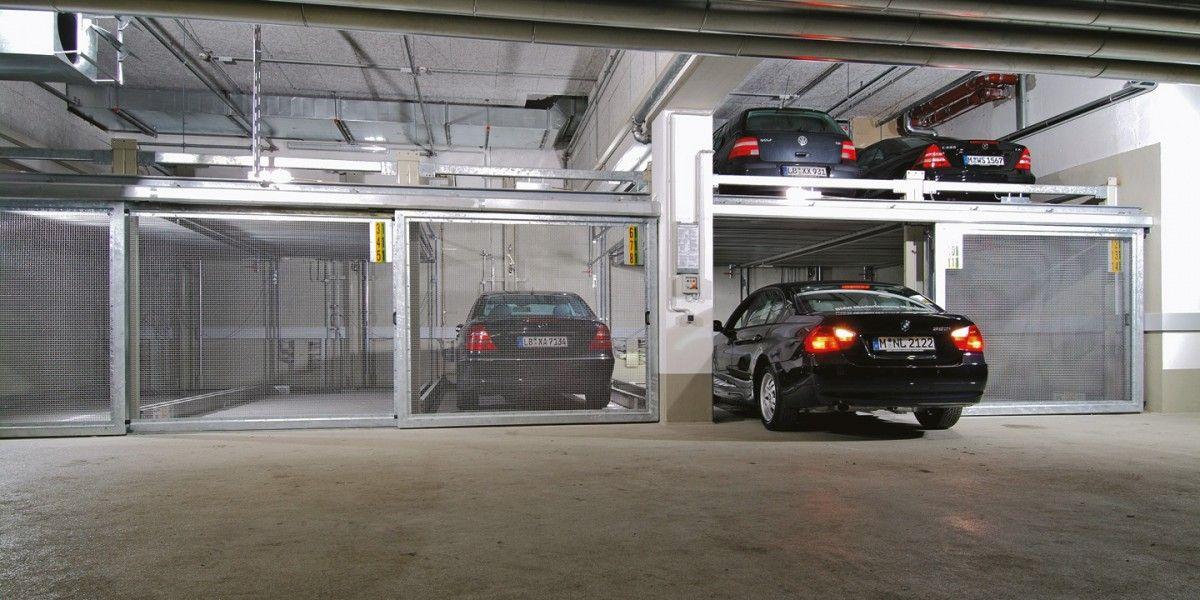 מתקני חניה ל 87 רכבים כחלק פרויקט חידוש והרחבה