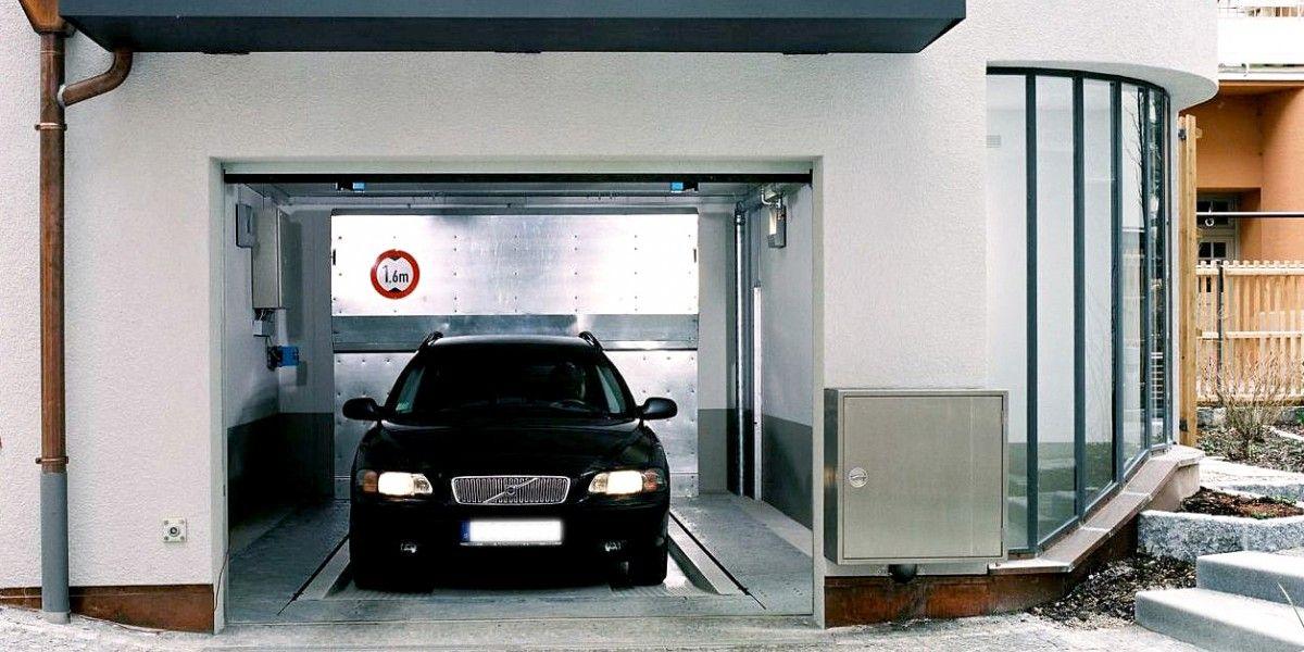 מתקן חניה אוטומטי מדגם Levelparker 590