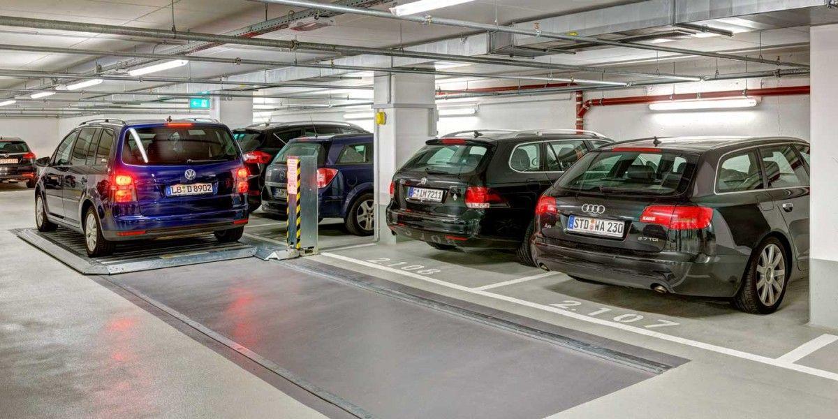 פלטות נעות Parking platform 503