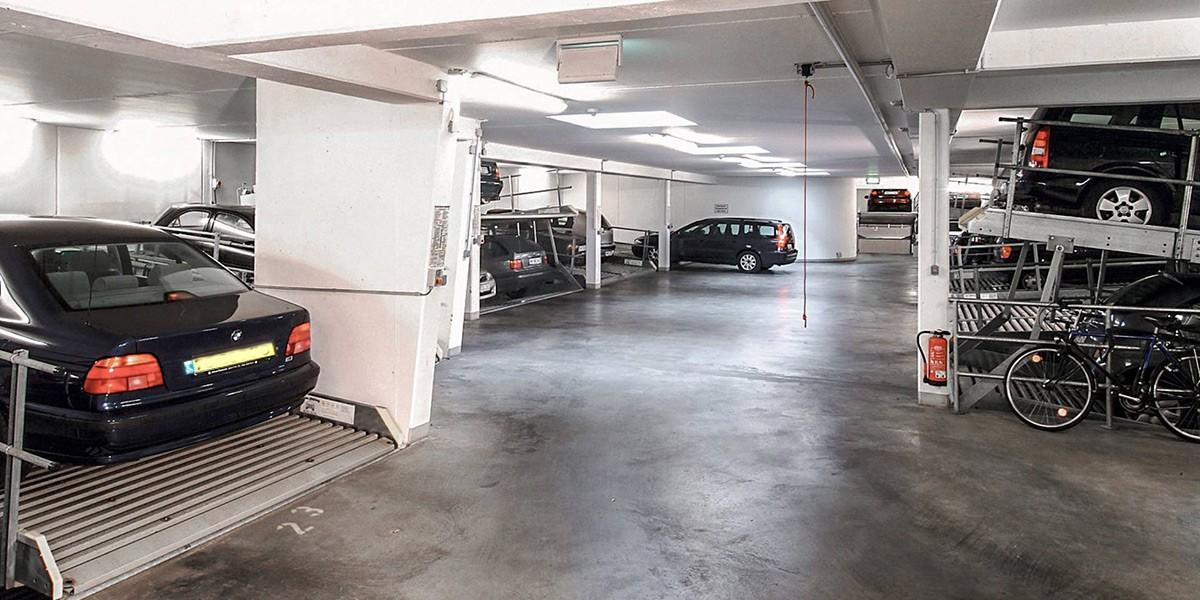 מכפיל חניה Parklift 340