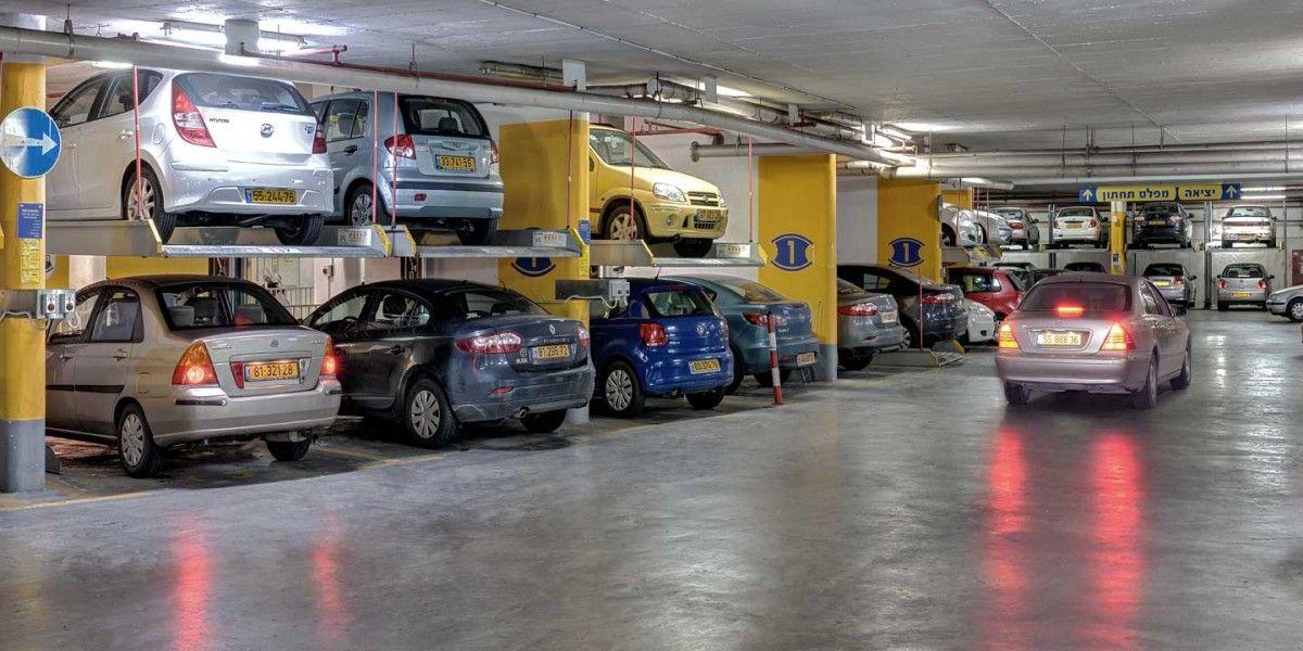 מכפיל חניה ללא פיר Parklift 411