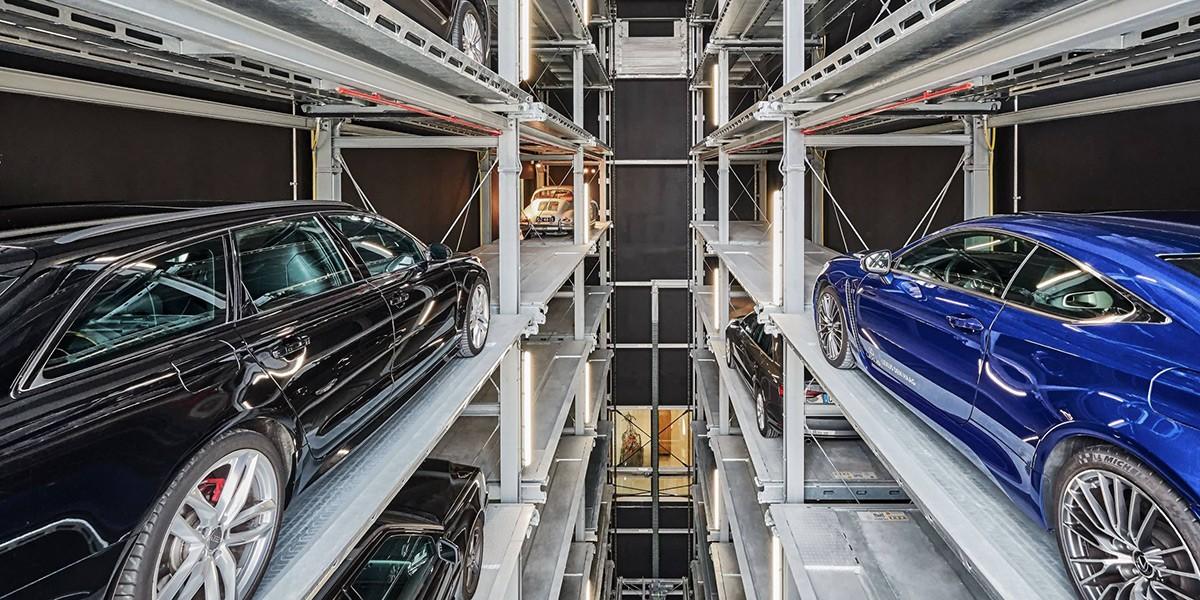 מתקן חניה אוטומטי Parksafe 583