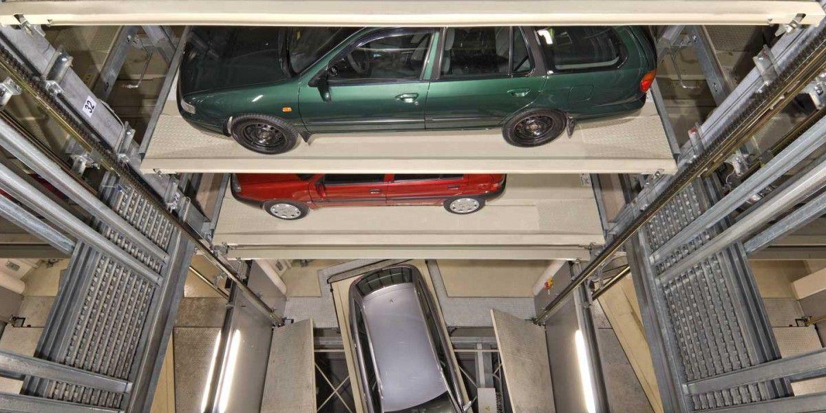 מתקן חניה אוטומטי Parksafe 580